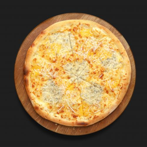 Пицца 4 Сыра бортик сыр/колбаски