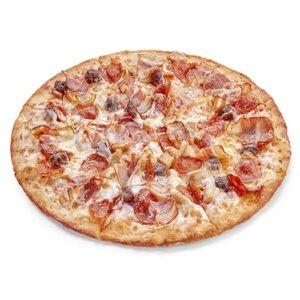Пицца 4 Мяса бортик сыр/колбаски