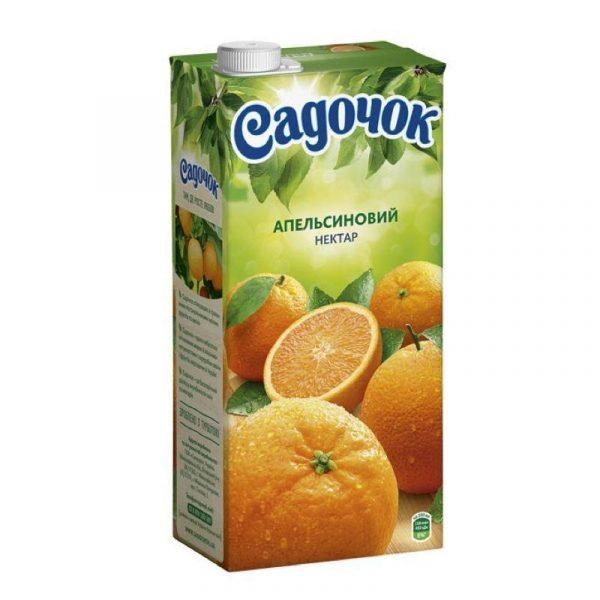 сок садочок апельсиновый
