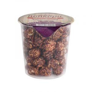 шоколадный попкорн