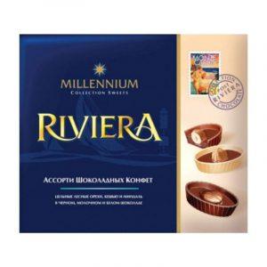 Шоколадные конфеты Millennium «Ривьера» Ассорти 125г