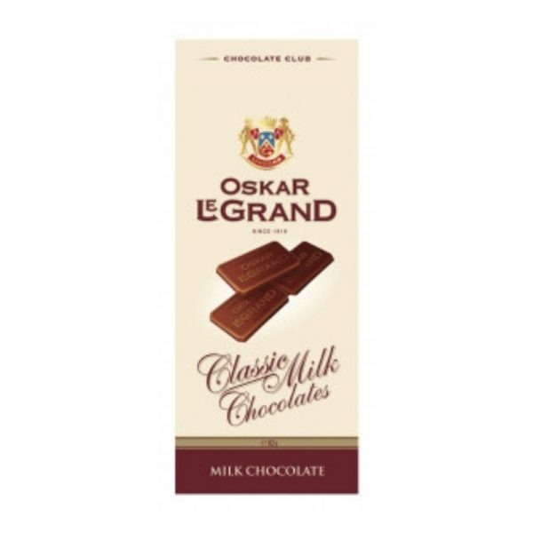 Шоколад «Oskar le Grand» молочний 82г