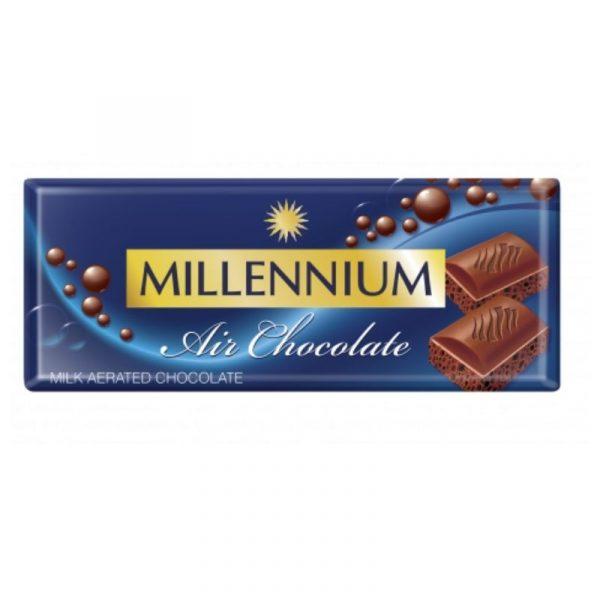 Шоколад «Millennium Air» пористый молочный 85г