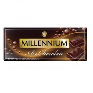 Шоколад «Millennium Air» пористый чёрный 85г