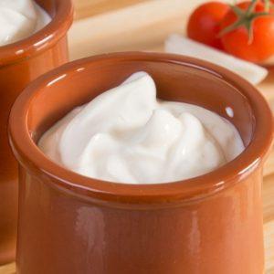 Сметана и йогурты