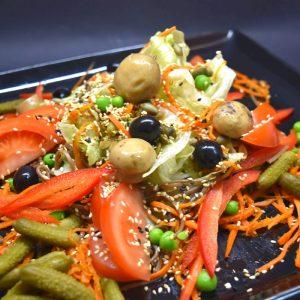 салат с соленьями