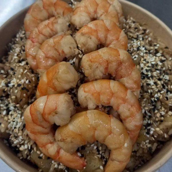 рис с креветками по тайски
